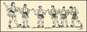 Τσάμικος, Λαβή-χορού